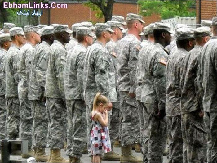 سرباز و کودک