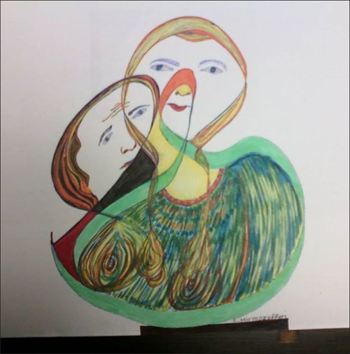 اسماعیل میرمظفری نقاشی